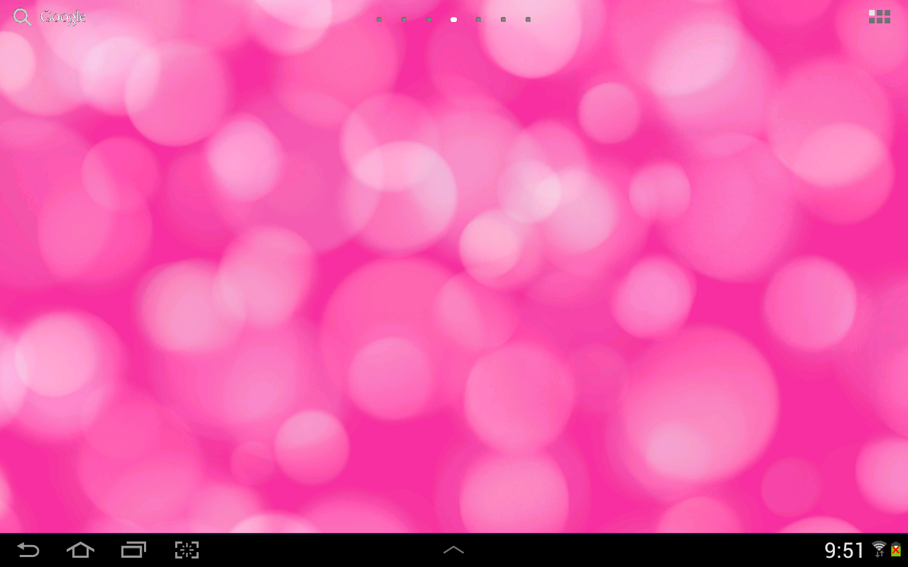 Light Drops Pro Live Wallpaper - screenshot