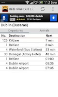 Screenshot of Real Time Bus Éireann