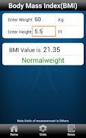 Screenshot of HealthCalz by Health5C