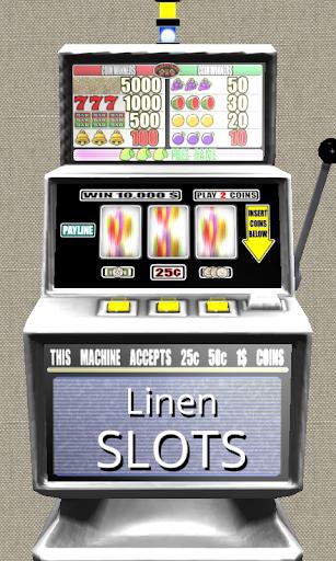 3D Linen Slots - Free