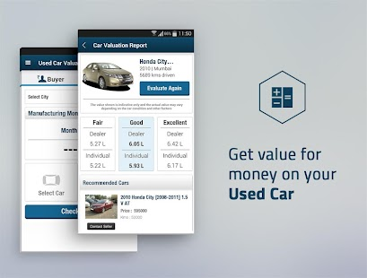 CarWale- Search New, Used Cars - screenshot thumbnail