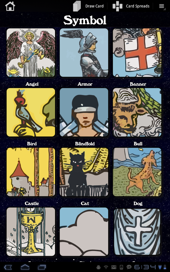 Galaxy Tarot Pro - screenshot