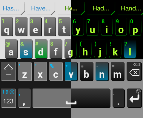 iKnowU Keyboard REACH FREE - screenshot