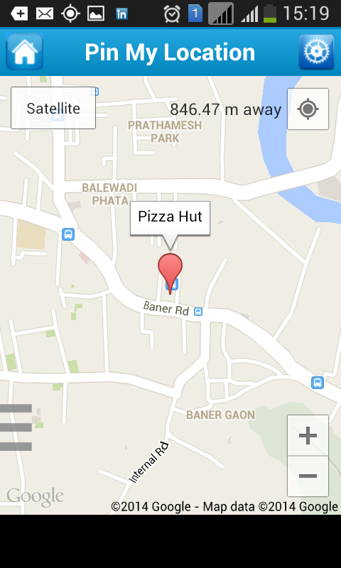 Pin My Location Android Apps On Google Play - Satellite map of my location