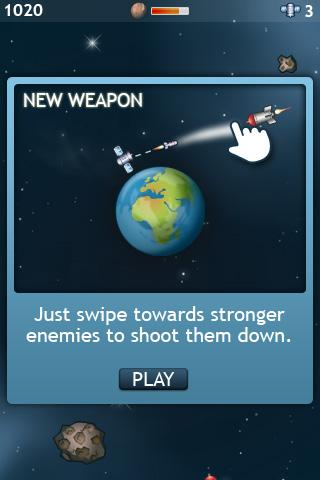 Orbital Defender Lite - screenshot