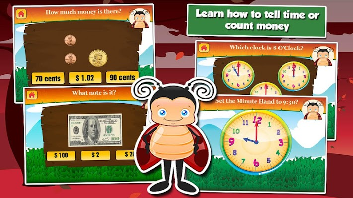 2nd Grade Learning Games - screenshot
