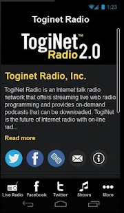 Toginet Radio - screenshot thumbnail