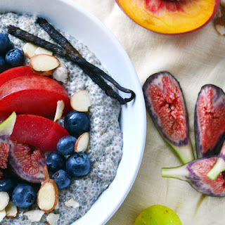 Vanilla-Almond Chia Breakfast Pudding.