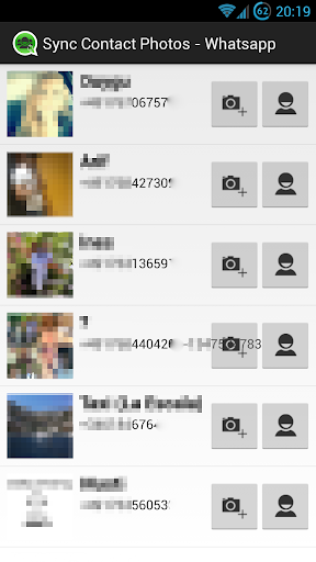 Sync Contact Photos - WhatsApp