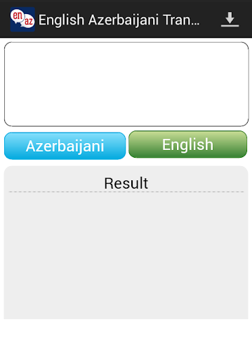 Azerbaijani English Translator