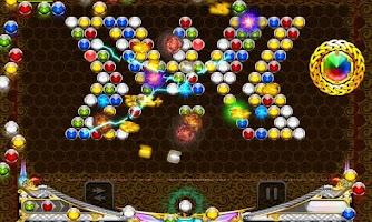 Screenshot of Angry Bubble Shooter