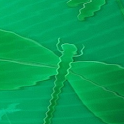 Wavy Green Dragonfly Live Wall logo