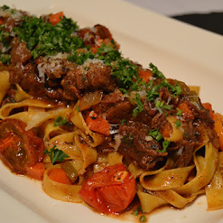 Short Rib Tagliatelle Pasta Recipe