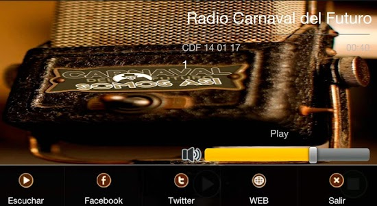 Radio Carnaval del Futuro screenshot 2