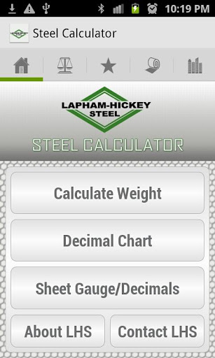 LH Steel Calculator