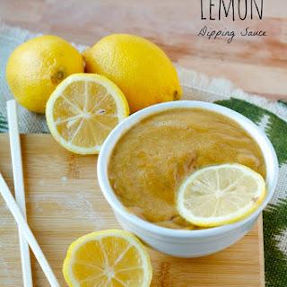 Lemon Dipping Sauce