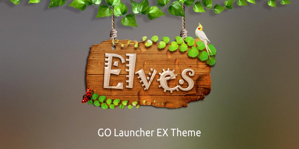 Elves GO Launcher Theme - screenshot