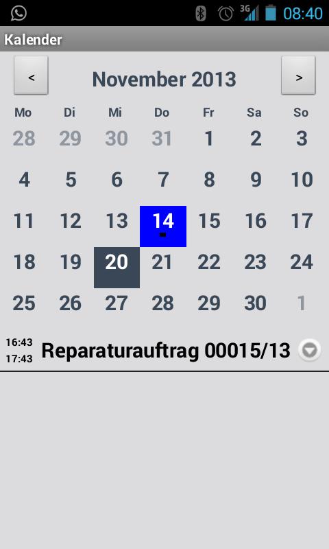 TopAdressen- screenshot