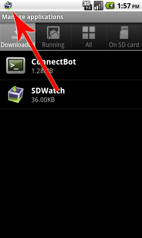 SDWatch - screenshot
