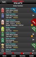 Screenshot of Protein-Shop