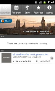 eZ Conference - screenshot thumbnail