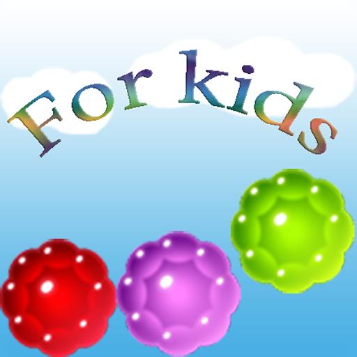 For Kids. Balls, bubbles LOGO-APP點子