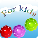 For Kids. Balls, bubbles icon