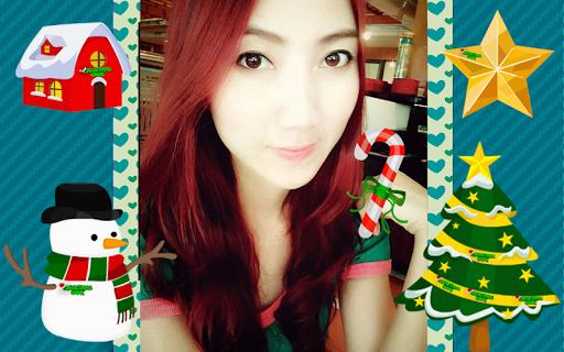 聖誕照片貼紙