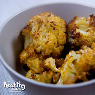 Oven Roasted Cauliflower with Cheese.