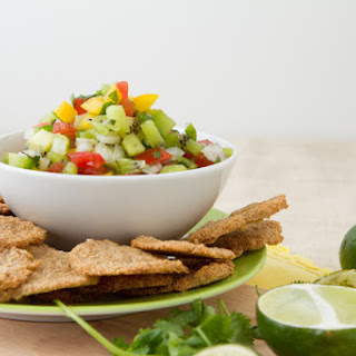 Corn-free Tortilla Chips and Summer Salsa