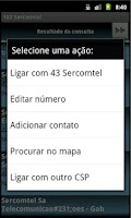 Screenshot of 102 Mobile Sercomtel