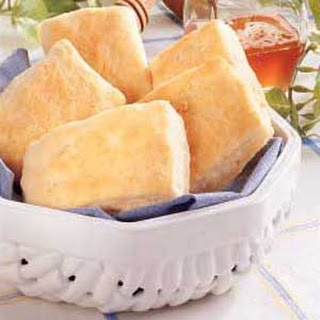 Butter-Dipped Biscuit Squares.