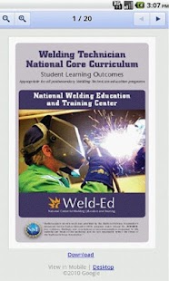 Welding Educators Resource - screenshot thumbnail