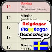 Svensk Kalender (Testversion)