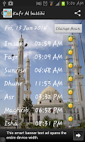 Screenshot of Egypt Prayer Timings (Islamic)