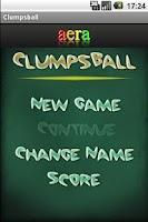 Screenshot of Clumpsball