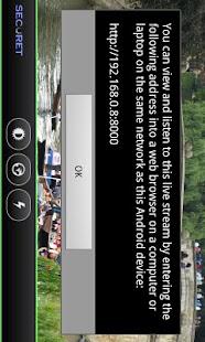 Camera WiFi LiveStream DEMO- screenshot thumbnail