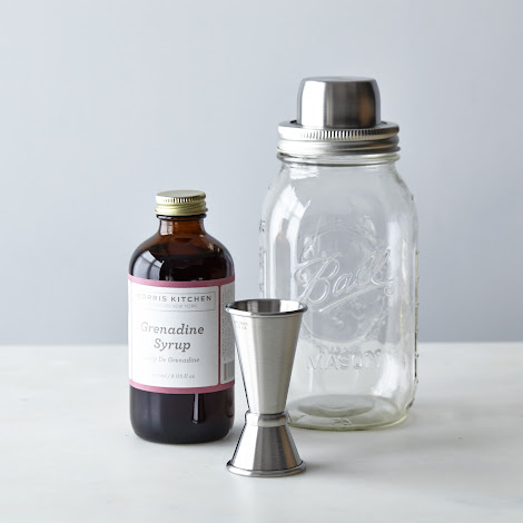 Mason Shaker + Morris Kitchen Grenadine Rum Punch Kit