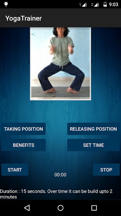 Yoga Trainer Free- screenshot