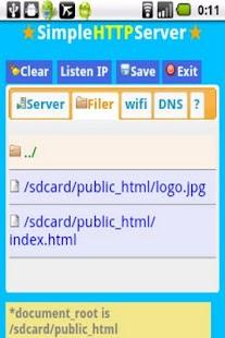 SimpleHTTPServer- screenshot thumbnail