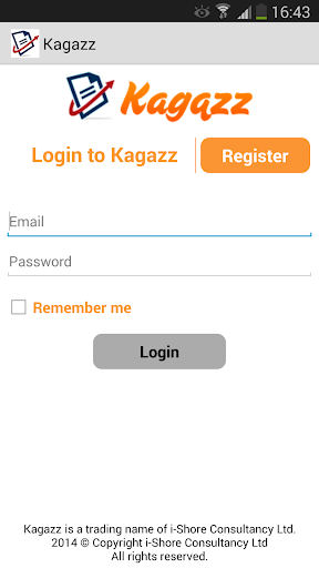 Kagazz - Easy Receipt Upload