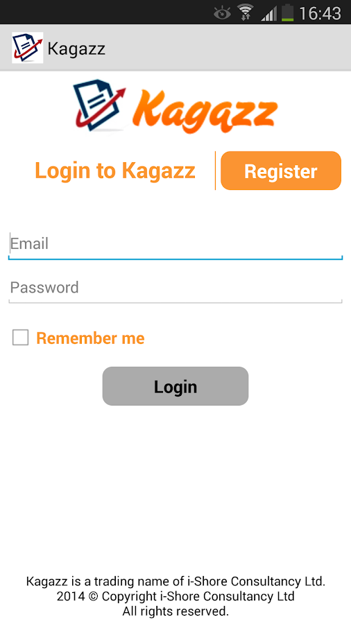 Kagazz - Easy Receipt Upload- screenshot