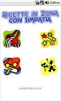 Screenshot of Ricette in Zona con Simpatia
