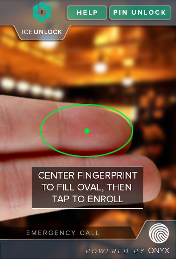 ICE Unlock Fingerprint Scanner - screenshot