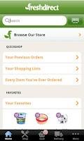 Screenshot of FreshDirect
