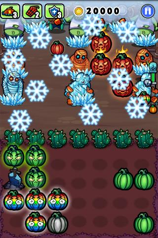 Pumpkins vs. Monsters- screenshot