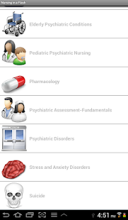 Psych Nursing in a Flash- screenshot thumbnail
