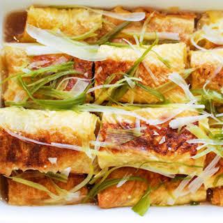 Chinese Bean Curd Recipes.