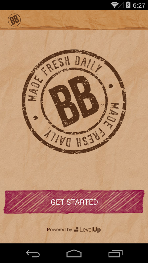 Brown Bag Rewards Program- screenshot