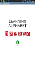 Screenshot of Learning Alphabet